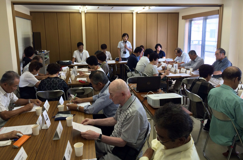 京都市桂川地域包括支援センターにて
